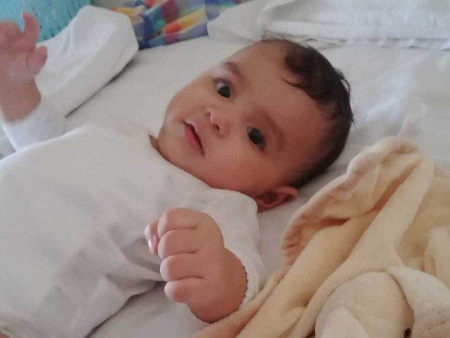 Home Office blocks baby adopted by UK resident. Nina Saleh. Pictured: Sofia Saleh TAKEN WITHOUT PERMISSION