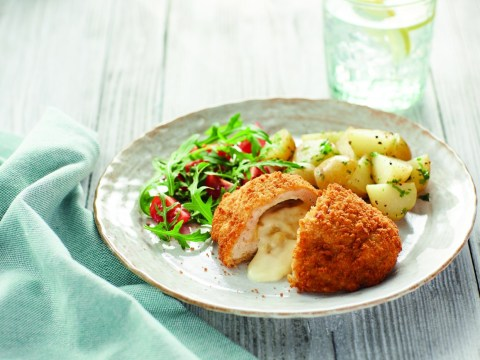 Aldi launches chicken kiev with mac and cheese stuffed inside