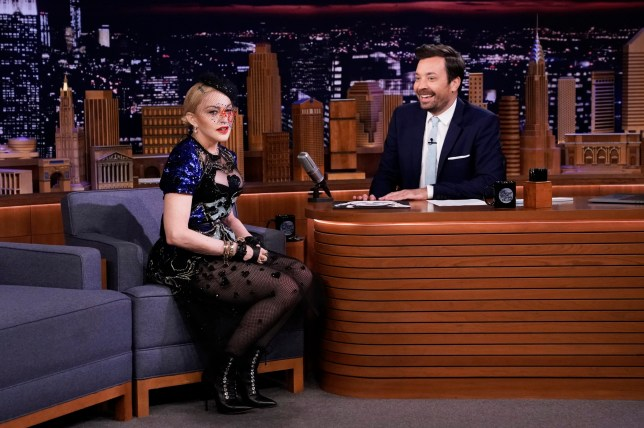 Madonna on The Tonight Show With Jimmy Kimmel
