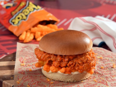 KFC launches Cheetos-topped chicken sandwich