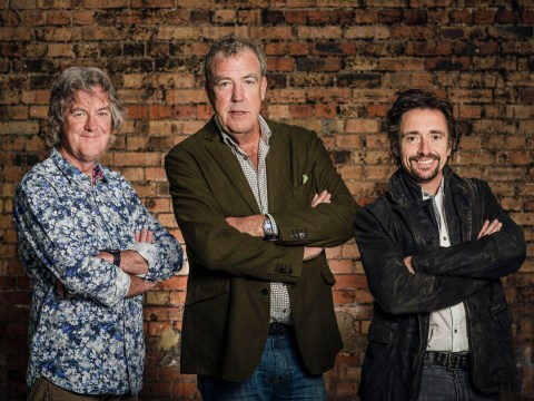 What are James May, Richard Hammond and Jeremy Clarkson's individual net worths?