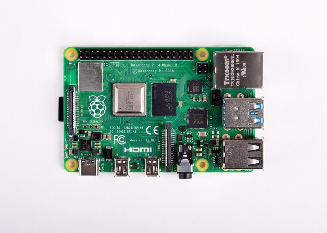 Undated handout photo issued by Raspberry Pi of the newest version of the low-cost Raspberry Pi computer, which has been announced, with its makers claiming it is the world's most affordable multimedia desktop PC. PRESS ASSOCIATION Photo. Issue date: Monday June 24, 2019. The Raspberry Pi 4, which starts at ??34, is capable of driving two independent screens running 4K resolution content and has three times the processing power of its predecessor. See PA story TECHNOLOGY RaspberryPi. Photo credit should read: Raspberry Pi/PA Wire NOTE TO EDITORS: This handout photo may only be used in for editorial reporting purposes for the contemporaneous illustration of events, things or the people in the image or facts mentioned in the caption. Reuse of the picture may require further permission from the copyright holder.