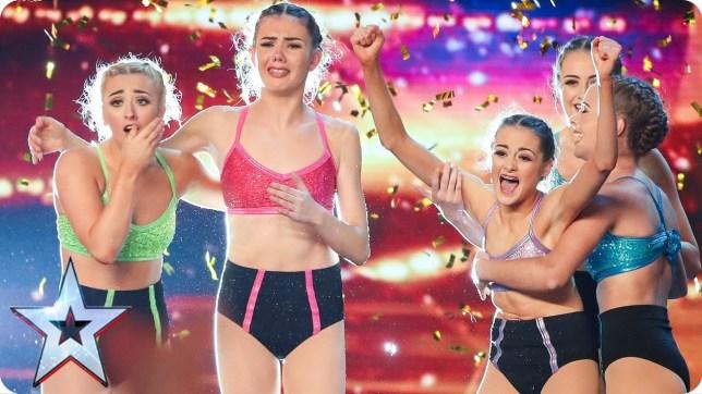 MerseyGirls on Britain's Got Talent in 2017