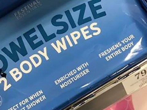 Home Bargains is selling 79p towel-sized wet wipes for your Glastonbury packing list