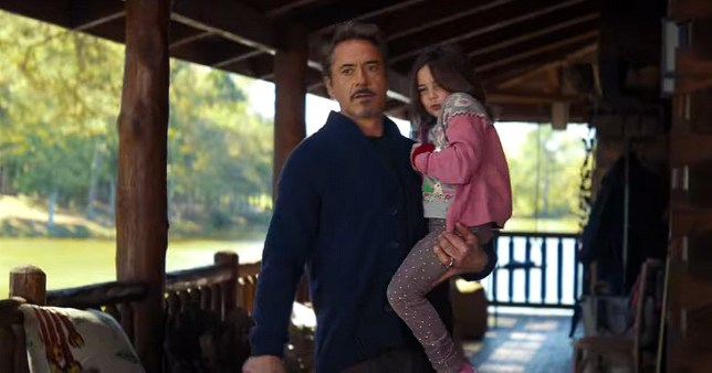 Tony Stark's daughter in Endgame is being bullied and Avengers: assemble! Picture: MARVEL METROGRAB ~~low-res (no prod-still available)