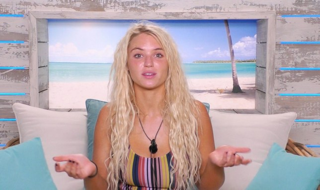 Editorial use only Mandatory Credit: Photo by REX (10321890k) Lucie Donlan. 'Love Island' TV Show, Series 5, Episode 21, Majorca, Spain - 26 Jun 2019 Highlights include: - There is tension in the bedroom as the Islanders discuss the 'danger zone' - As some couples are going full steam ahead, others are slowing down - It's time to find out what Twitter thinks in today's challenge - The Islanders react to the challenge revelations