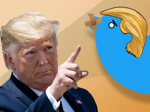 Twitter says Trump's tweets could get slapped with a warning label
