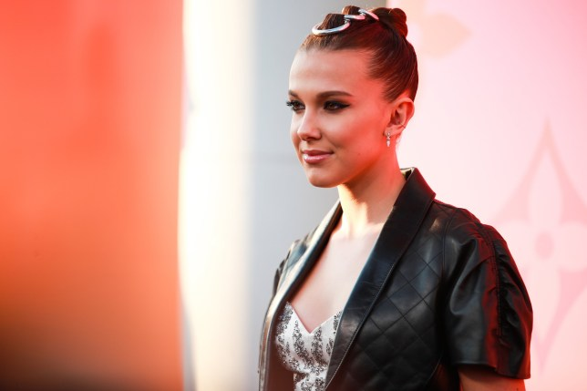 BEVERLY HILLS, CALIFORNIA - JUNE 27: Millie Bobby Brown attends Louis Vuitton Unveils Louis Vuitton X: An Immersive Journey on June 27, 2019 in Beverly Hills, California. (Photo by Rich Fury/Getty Images)