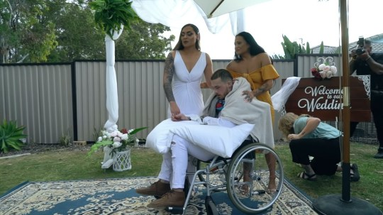 Wedding for dying man