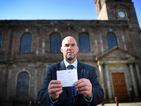 Driver says he shouldn't have been given parking ticket as he was going to church