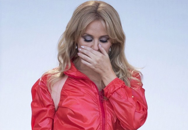 Kylie Minogue Glastonbury Festival