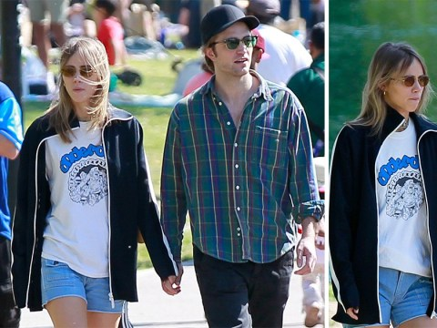 Robert Pattinson looks loved-up with Suki Waterhouse as he's confirmed for Batman role