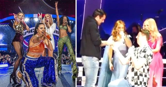 Spice Girls live proposal