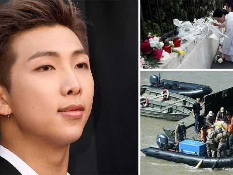 BTS' RM pays tribute to Korean tourist in Hungary boat crash and hopes for 'safe return' of missing victims