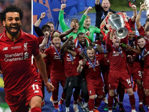 Mohamed Salah and Divock Origi goals help Liverpool to win Champions League final