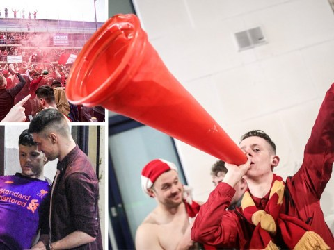 Liverpool fans party all night after historic Champions League victory