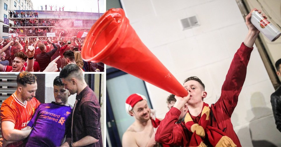 Liverpool fans celebrate Champions League final win into the early hours