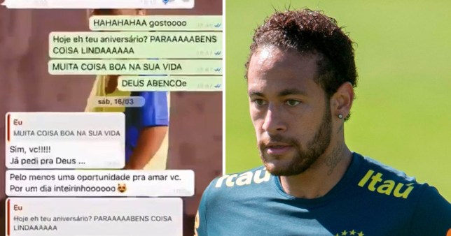 The document says the incident took place on May 15, at 8.20pm in a hotel (Picture: @Neymar/ AP)