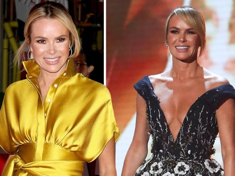 Amanda Holden 'loves' that people are still talking about her boobs at 50