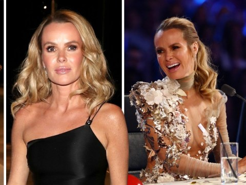 Amanda Holden works it in black mini-dress after low-cut frocks cause complaints on BGT
