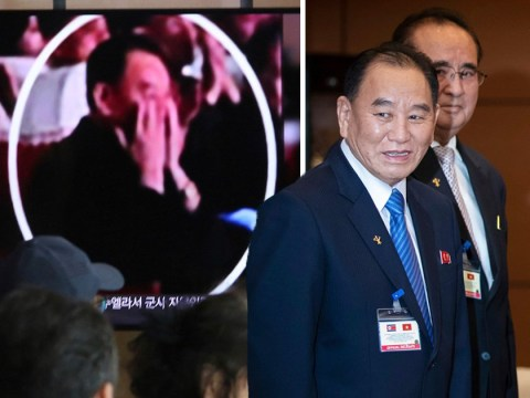 'Purged' North Korean official turns up at event with Kim Jong Un