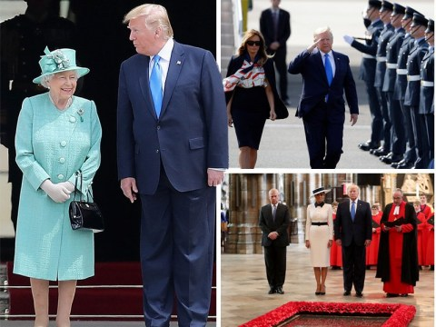 What went on during Donald Trump's big day with the Queen
