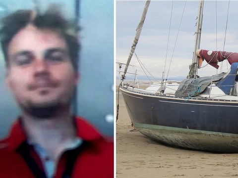 Ghost ship discovery sparks hunt for yacht's skipper