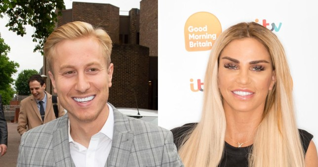 Kris Boyson and Katie Price have signed up for Celebs Go Dating