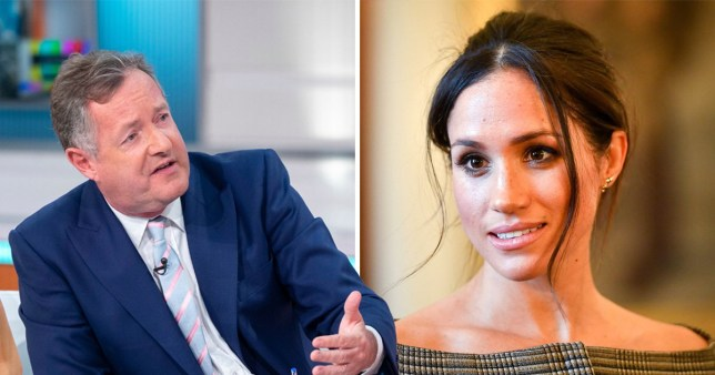 Piers Morgan wants Meghan Markle on the show