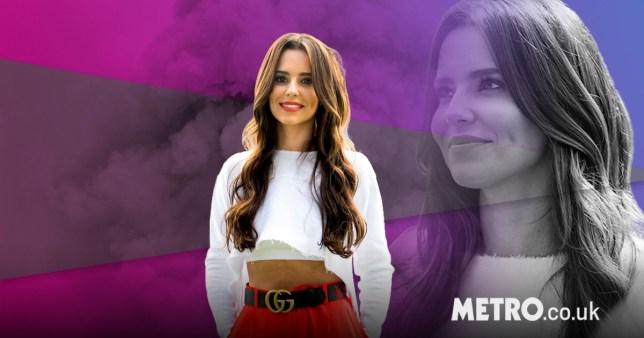 Cheryl on a pretty background