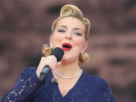 Sheridan Smith says late dad would have been 'proud' of her 75th D-Day anniversary performance