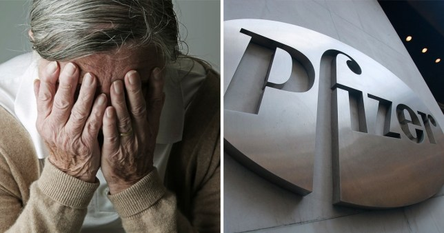 Global pharmaceutical company Pfizer has been accused of burying data showing a link between the drug Enbrel and Alzheimer's