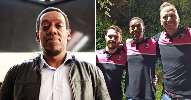 Gay rugby player Kenneth Macharia has had his right to stay in the UK revoked. See SWNS story SWBRrugby - A gay rugby player has called on Sajid Javid to intervene after being told he is being deported - despite claims he will be killed when he returns to Kenya. Kenneth Macharia has received support from more than 100,000 people who signed a petition asking the Home Office to stop his removal. The 39-year-old, who lives in Bristol, claimed asylum in the UK while awaiting deportation saying that he fears for his life in Kenya where homosexuality is illegal. He played for Bristol Bisons, a gay and inclusive rugby club who launched the campaign to support him. A Home Office decision letter sent to Macharia?s solicitor acknowledged that gay sex in Kenya was punishable by up to 21 years in prison.