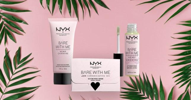 The new NYX makeup range