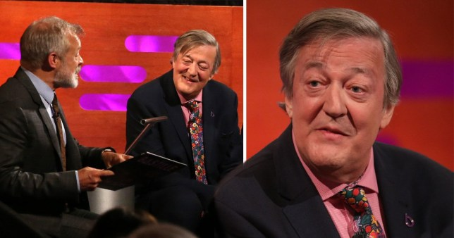 Stephen Fry on The Graham Norton Show
