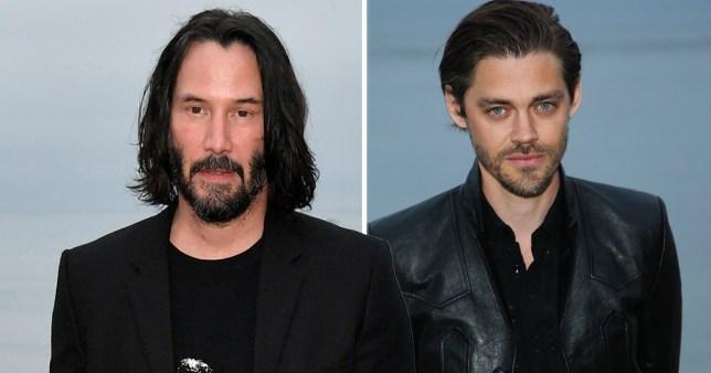 Tom Payne and Keanu Reeves