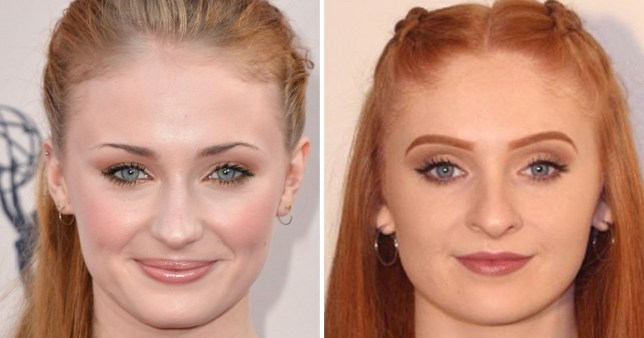 Sophie Turner's Game Of Thrones photo double looks so much like her it's creepy