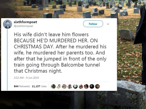 Man tells incredible story of meeting his wife after visiting a stranger's grave every week