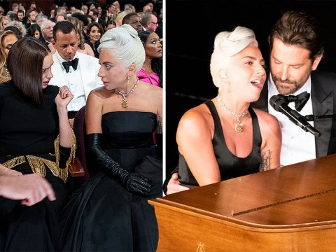 Lady Gaga tells fans to 'be kind' during Shallow performance amid Bradley Cooper and Irina Shayk split