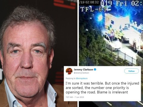 Jeremy Clarkson slammed by police for complaining about road closure after fatal car crash