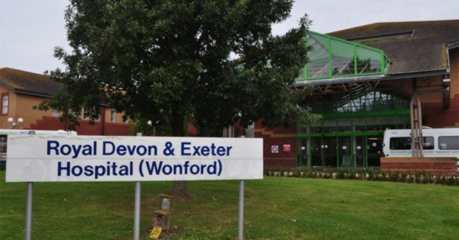 Nurse taped elderly patient's mouth and said 'I'll shoot you' to keep him quiet at Royal Devon & Exeter Hospital Wondford