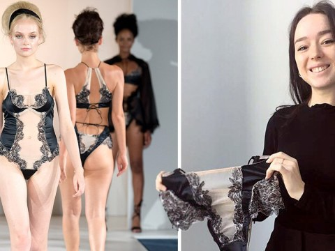 Student designs 'sexy period-proof' lingerie which apparently stays leak-free for 18 months