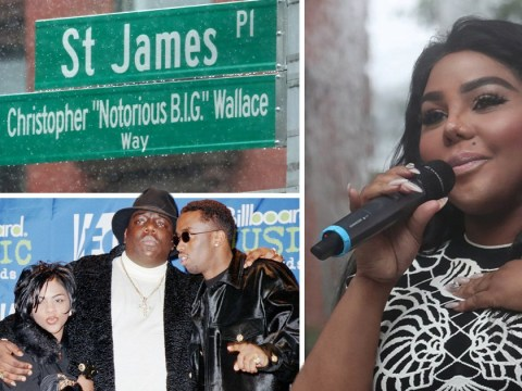 Lil Kim honours Notorious B.I.G at New York street naming 22 years after rapper's murder