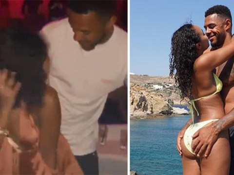 Leigh-Anne Pinnock grinds with boyfriend Andre Gray in Mykonos as they party away on exotic holiday