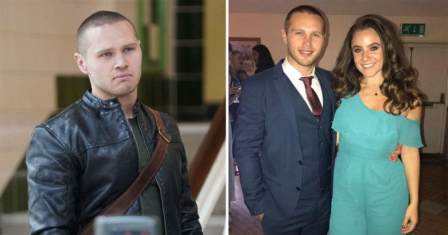 Danny Walters and girlfriend Lily Smith