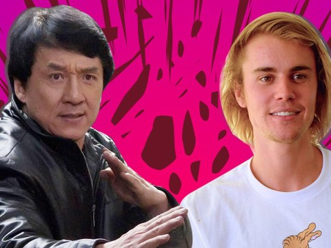 The internet wants Jackie Chan to fight Justin Bieber as he challenges Tom Cruise and things just got weird
