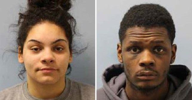 Kydie McKenna and Harief Pearson, both 22, who tried to force an abortion on a 17-year-old girl by pouring detergent down her mouth and beating her