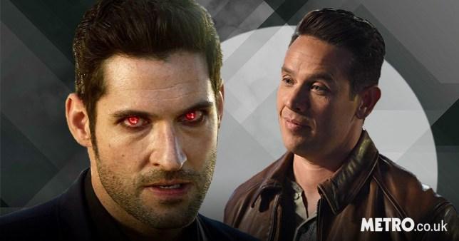 Dan Espinoza and Lucifer