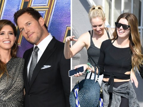 Katherine Schwarzenegger can't stop smiling out and about after wedding to husband Chris Pratt