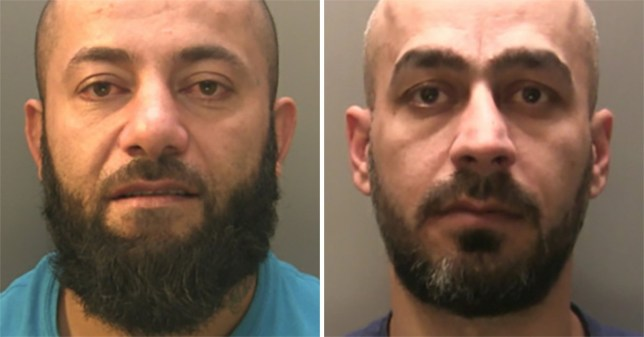 Hemin Salimpirikand Kuchar Rahim have been jailed for a total of 32 years for gang raping woman